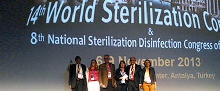 Trabalho do Einstein é premiado no 14th World Sterilization Congress